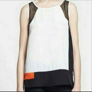 NWT Search for Sanity color block tank